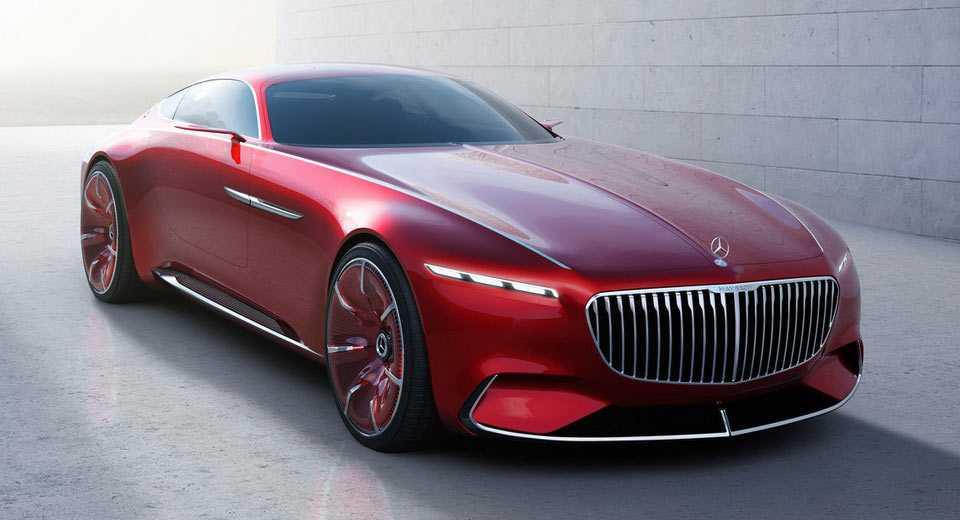 Mercedes Maybach 6 Concept's Teaser Image Reveals Gullwing Doors