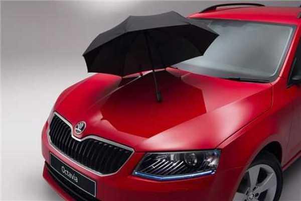 Skoda Adds Umbrella Compartment For Octavia, Fabia and Citigo