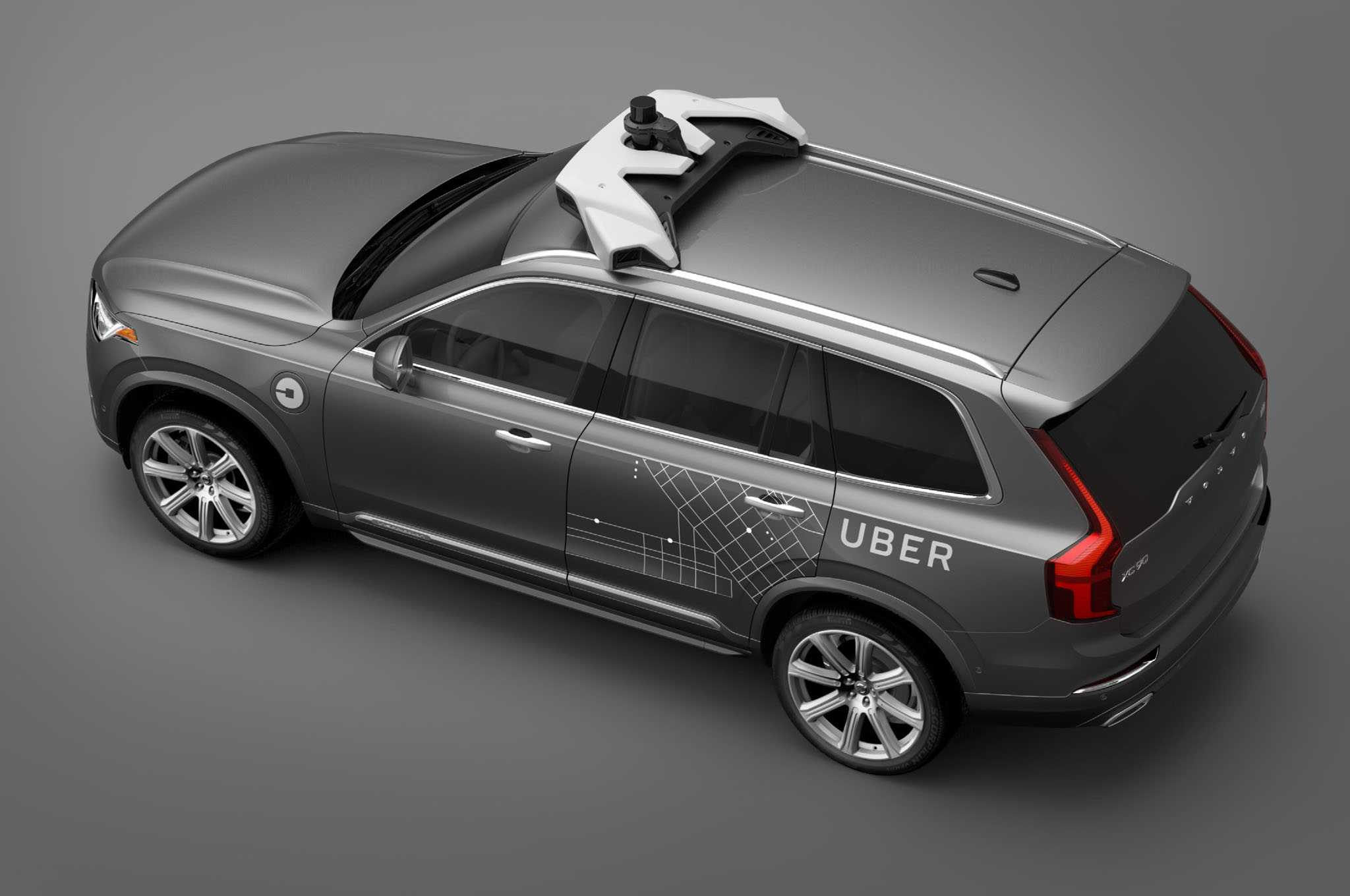 Volvo Partners With Uber To Test Self-Driving Cabs
