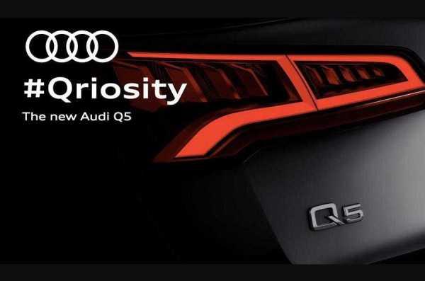 Audi Q5 New Teaser