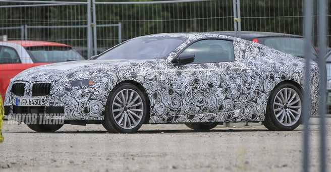 BMW 8 Series Prototype Spied With Heavy Camouflage