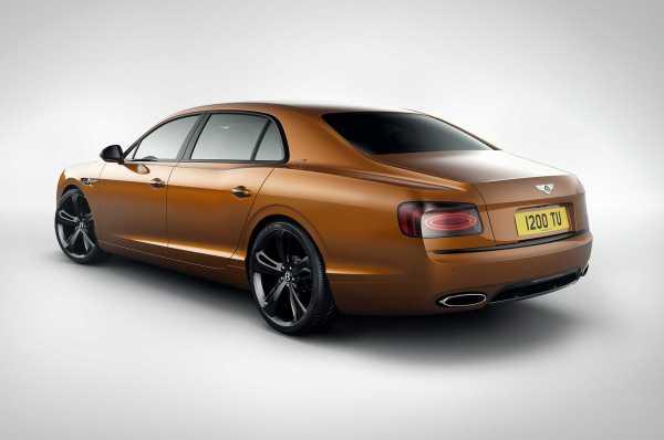 Bentley Flying Spur W12 S rear
