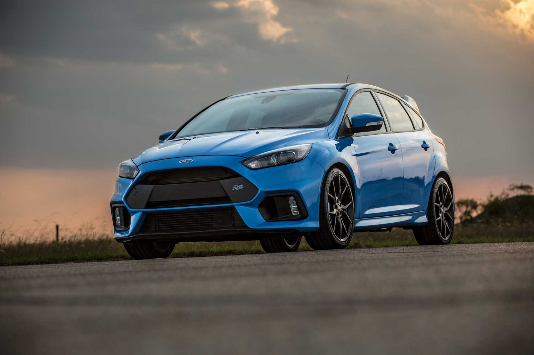 Ford Focus RS Gets Boosted To 405 Horsepower Hennessey Performance Package