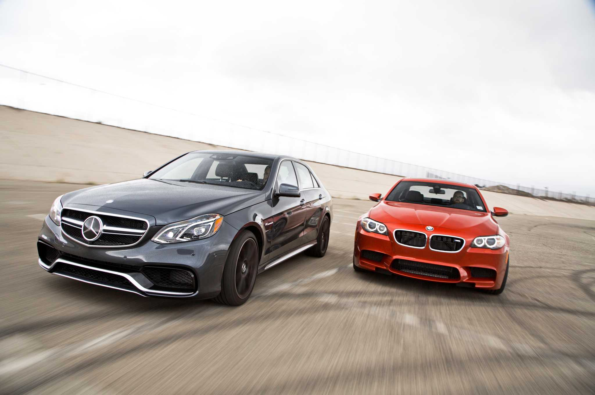 Mercedes Benz E63 AMG Arrives to Take on 2017 BMW M5