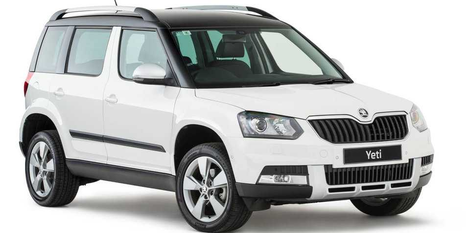 2017 Skoda Yeti Pricing, Specs and Trimlines Announced