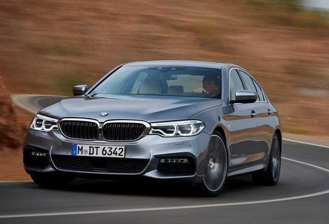 BMW Seventh Generation 5 Series Car