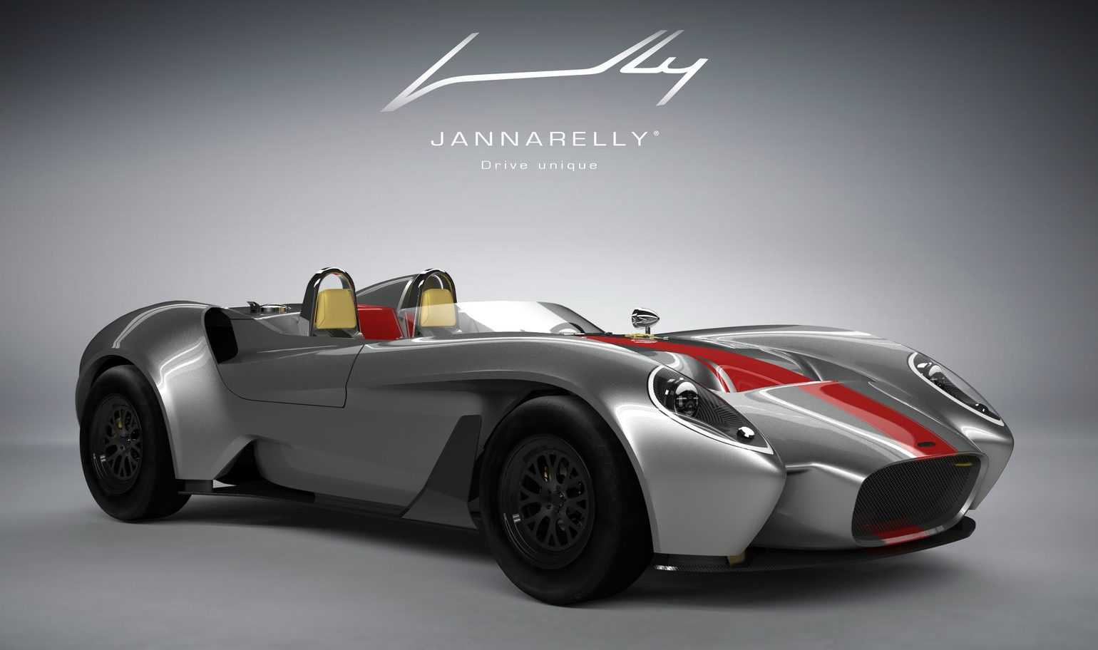 Jannarelly Design-1 Roadster is Hitting U.S. Stores, Priced at $84,000