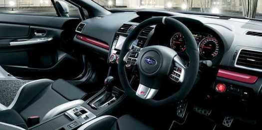 Subaru WRX S4 tS Interior