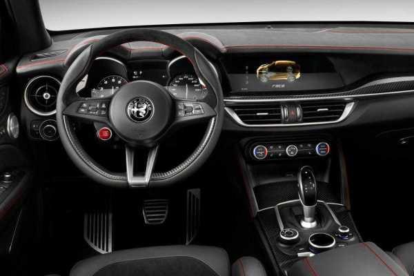 2017 Alfa Romeo Stelvio interior
