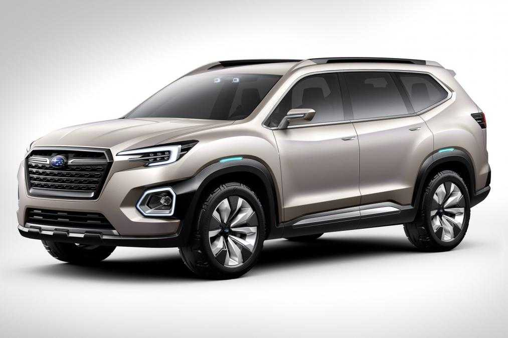 Subaru VIZIV-7 Concept Car is a Mid-sized SUV Scheduled for 2018 Launch