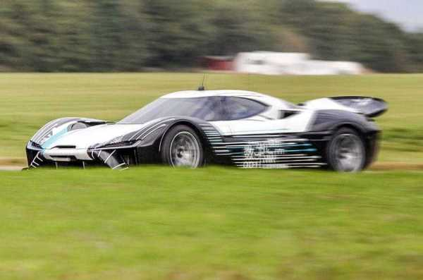 NextEV Hypercar Revealed