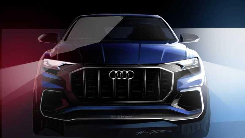 2017 Audi Q8 Concept Teaser