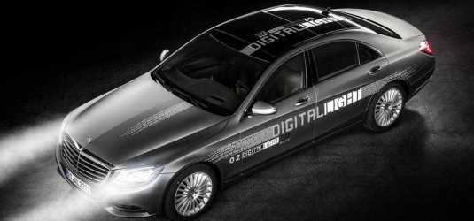 Mercedes Cars Get Digital Light