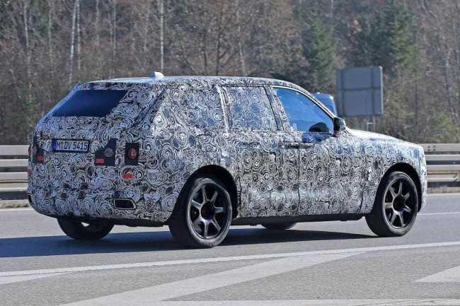 Rolls Royce First SUV Cullinan