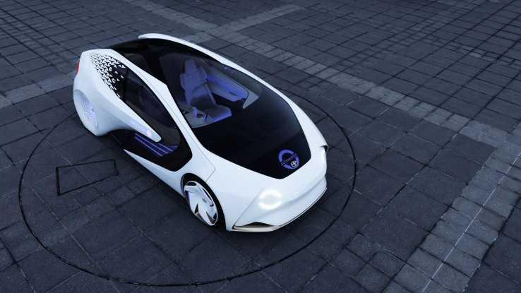 Toyota Concept-i Vehicle