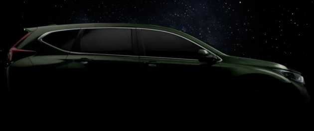 2017 Honda CR-V is a Large 7-Seater Diesel Car, Teaser Images Released in Thailand Event