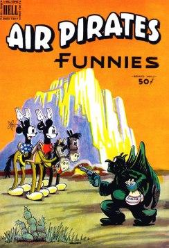 Air Pirates parody cover.