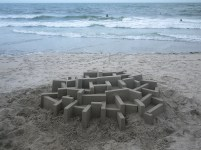 Mind-blowing-Geometric-Sandcastles-by-Calvin-Seibert-6