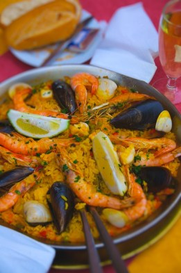 Colorfull Paella