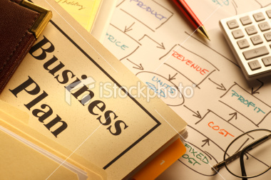 image of a finished business plan
