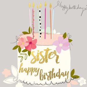 Birthday shayari for sister :