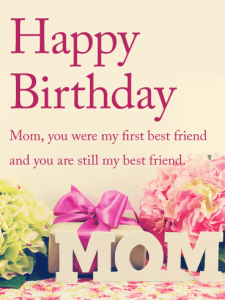 Loving Happy Birthday Status & Quotes Mom from Daughter