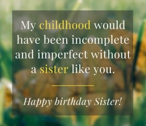 Awesome Best Happy Birthday Wishes Status And Quotes For Sister Funny Birthday Cards Online Sheoxdamsfinfo