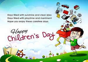 Children Day 2019 wishes for facebook