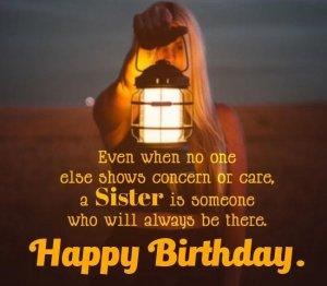 Emotional Birthday Status For Sister