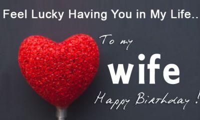 Best Happy Birthday Status for wife