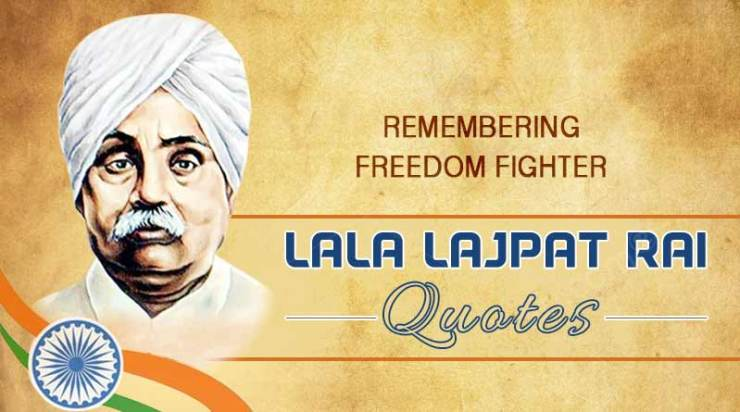 Lala Lajpat Rai birthday wishes