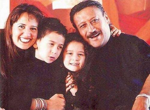 Tiger Shroff family