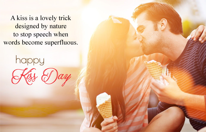kiss day images shayari