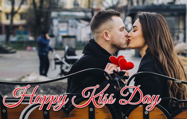happy kiss day picture