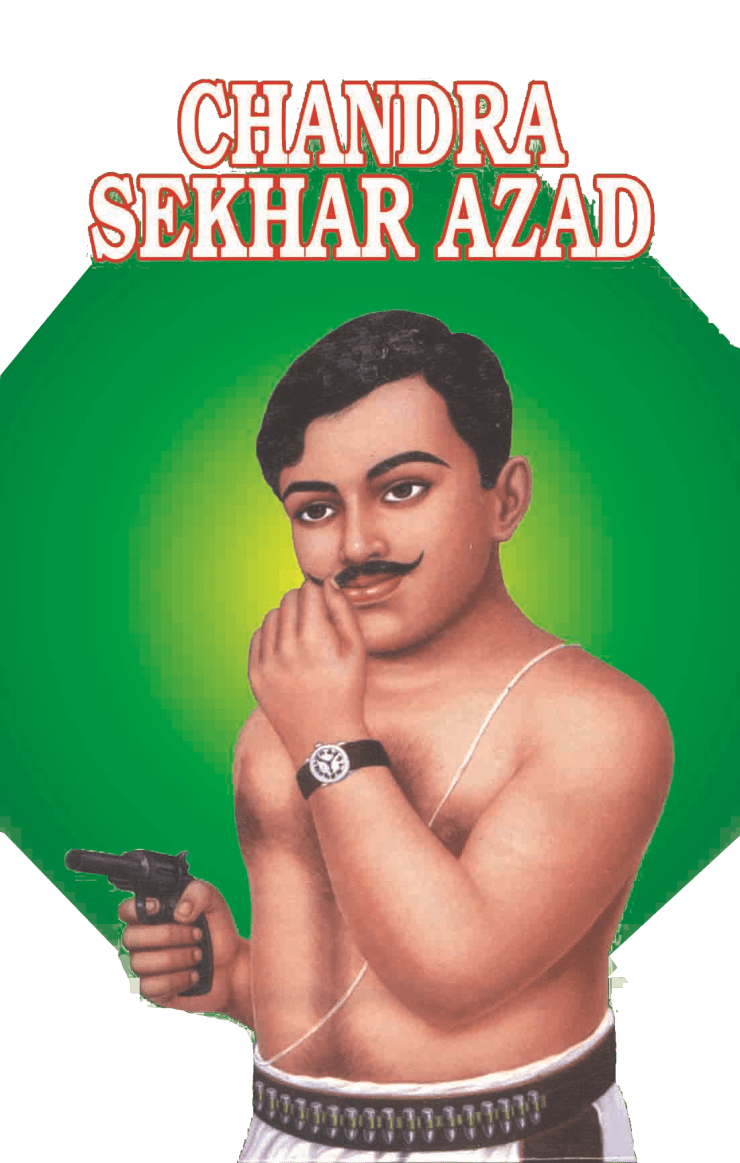 full photo of chandrashekhar azad