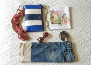 cltuch bag and accessories