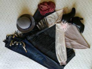 cape and accessories