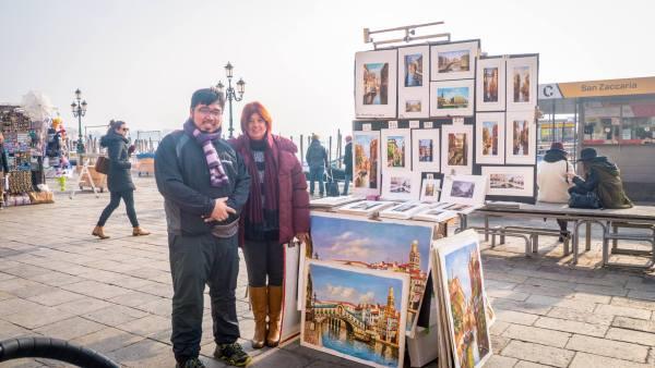 Artist at Venice