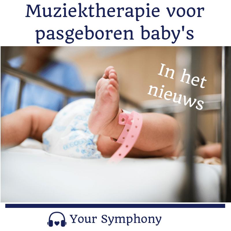 muziektherapie pasgeboren baby's