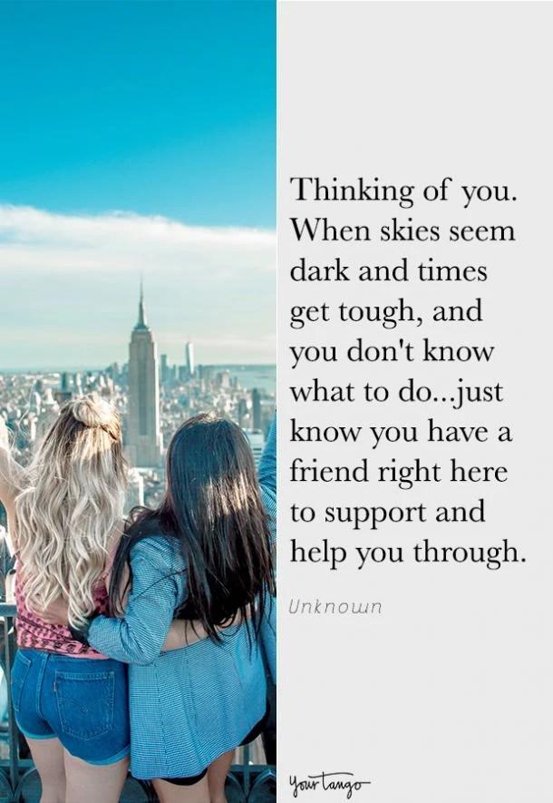 I'm Thinking Of You Meme : thinking, 'Thinking, Quotes, Someone, Needs, Friend, YourTango