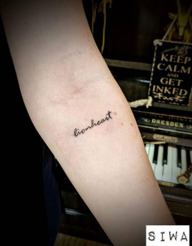 Two Words Tattoo : words, tattoo, Small,, Meaningful, Tattoo, Ideas, Designs, Women, (2019), YourTango