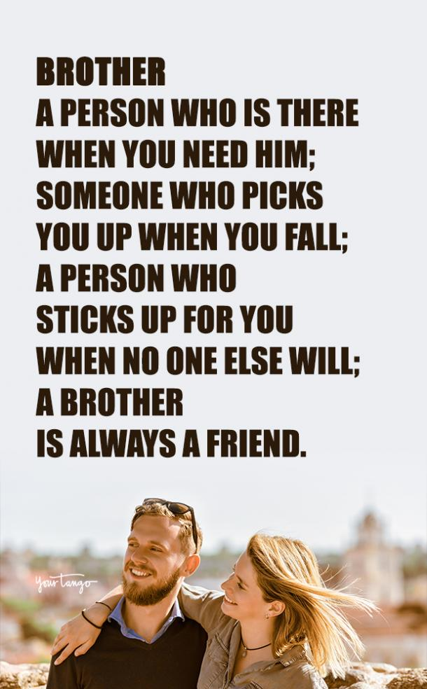 Quotes About Your Brother : quotes, about, brother, National, Brother's, Quotes, About, Sibling, YourTango