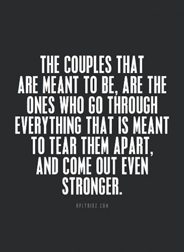 Top 22 Love Through Hard Time Quotes & Sayings
