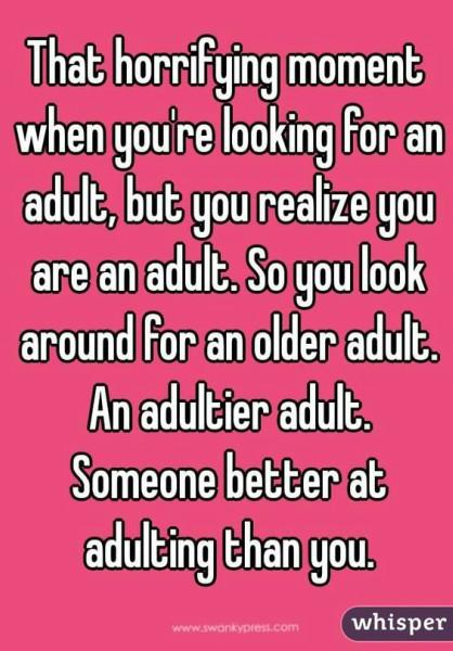 Funny Adult Quotes : funny, adult, quotes, Funny, Quotes, Prove, There's, Thing, 'Adulting', YourTango