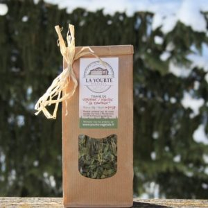 """Tisane la """"Menveine"""" bio yourte végétale montaimont saint françois longchamp savoie ferme agriculture"""