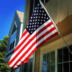 Flag at house