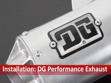 DG Exhaust Install