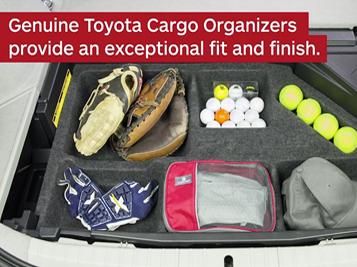 Toyota Prius Cargo Organizer