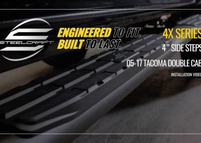 Steelcraft 4X Series Side Step Installation