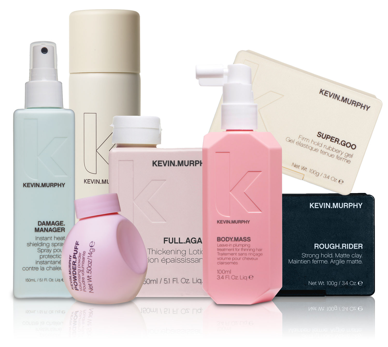 Kevin Murphy S Are A Range Of Salon Only Professional Hair Care That Provide Performance Strength And Longevity To Support Today Ever